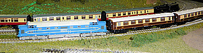 Farish Deltic DP1 train