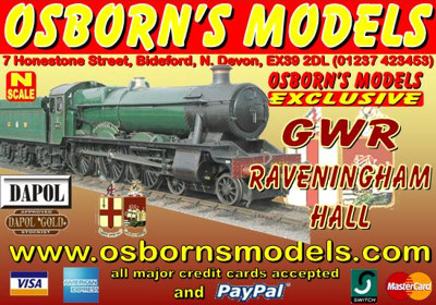 Osborns Hall Advert