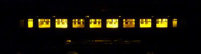 Dapol Collett Coach in Darkness