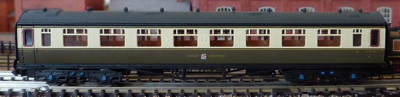 Dapol Collett Coach in Daylight