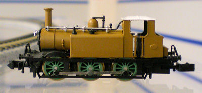 Dapol Terrier Tank Locomotice early test build