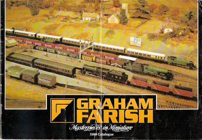 Graham Farish N Gauge Catalogue from 1980