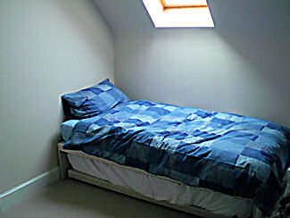 second floor single bedroom