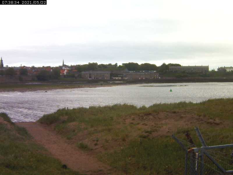 view of the River Tweed from Berwick Sailing Club